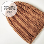 Crochet Pattern: Basic Slouch No. 1