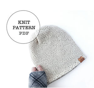 Knit Pattern: Gibson Slouch