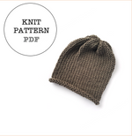 Knit Pattern: Jameson Slouch