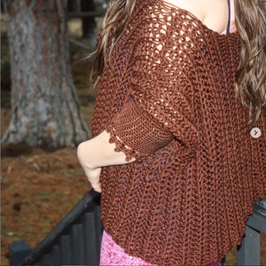 Crochet Pattern: Cedarbrook Sweater