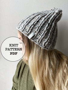 Knit Pattern: Not Twisted Sister Beanie