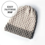 Knit Pattern: Saturday Slouch