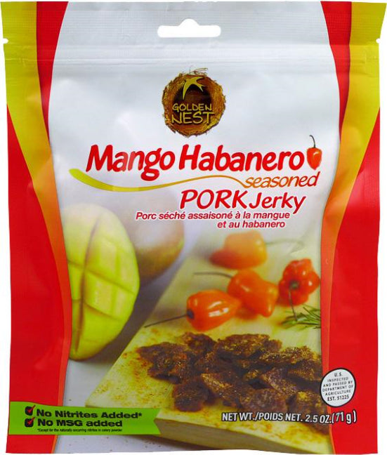 Mango Habanero Seasoned Pork (71g)
