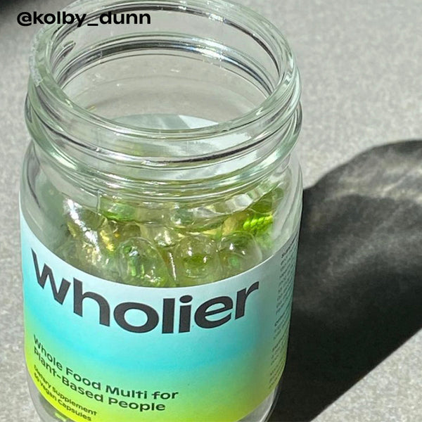 @kolby_dunn with wholier multivitamin.