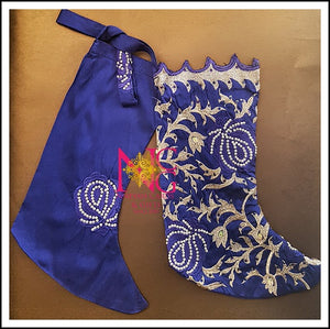 Cobalt Christmas Stockings