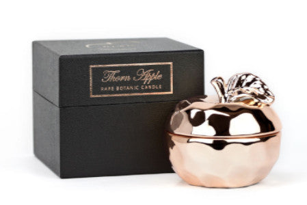 Rose Gold Apple Candle