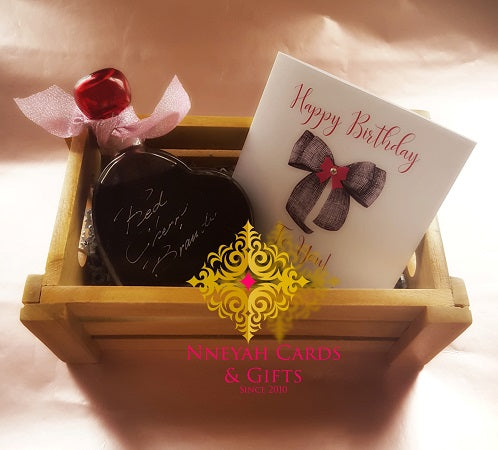 Cherry Brandy Heart Crate