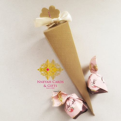 Gold Cone Candy