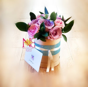 Hat Box Roses Sparkle