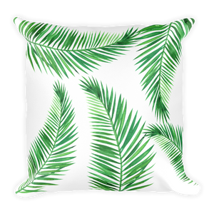 Sensational Palm Leaves Throw Pillow Ocoug Best Dining Table And Chair Ideas Images Ocougorg