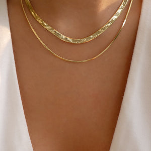 Double Louisa Chain Necklace