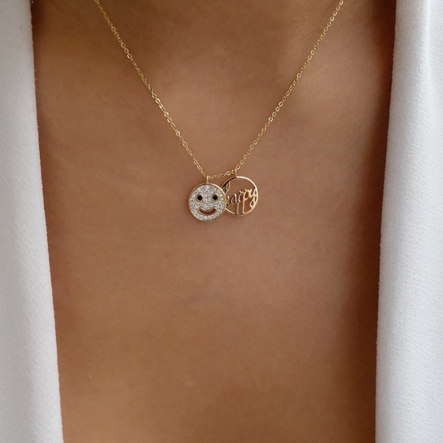 Happy Smiley Necklace