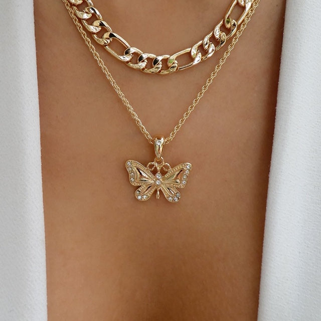Finley Butterfly Necklace