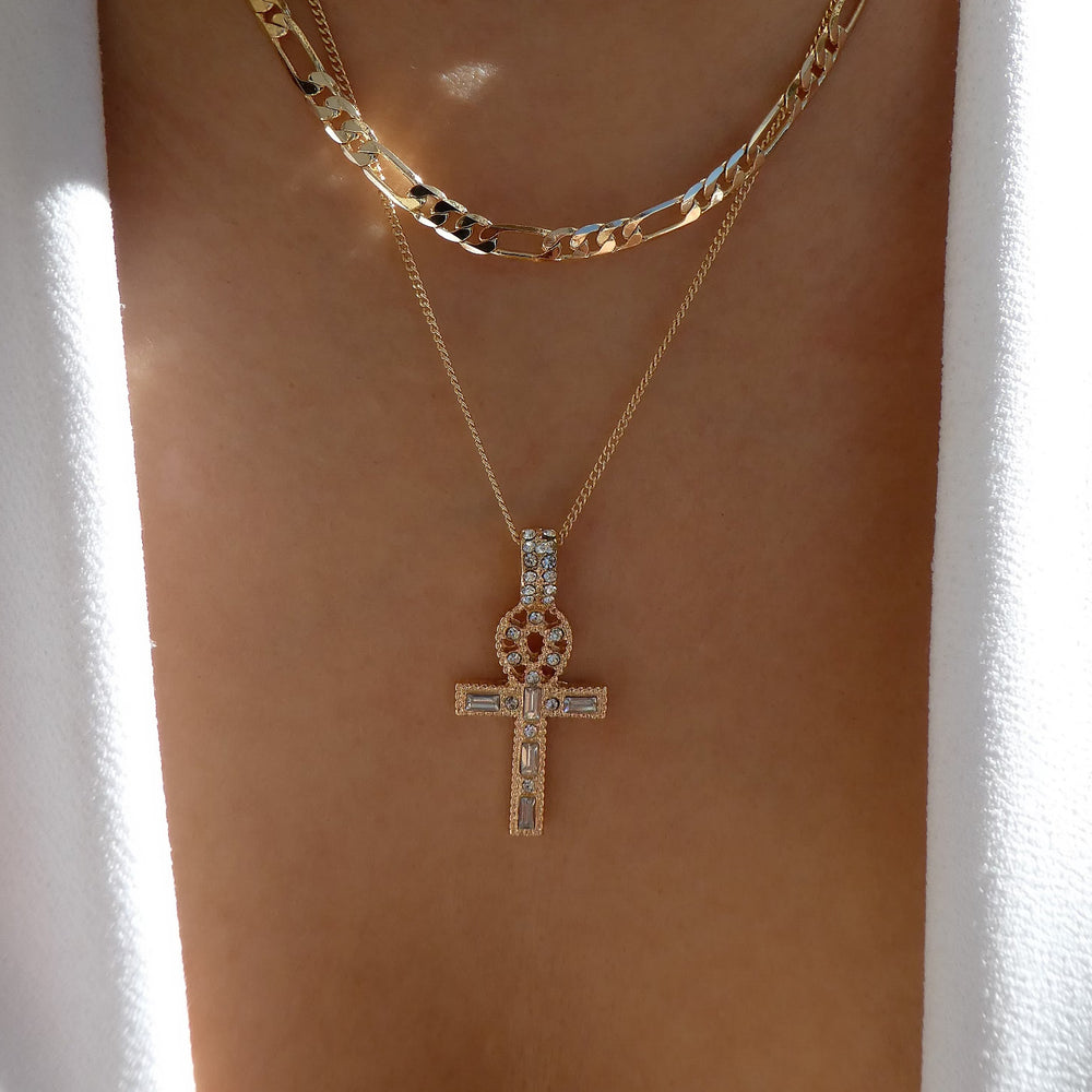 Marie Cross Necklace Set
