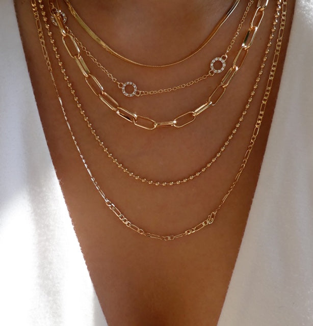Malka Chain Necklace Set