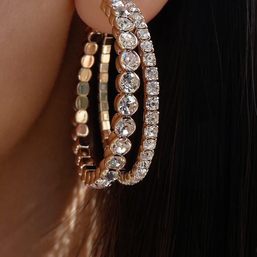 Crystal Shelby Hoops