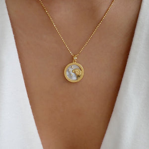 Katarina Zodiac Necklace (Aries)