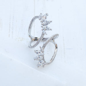 Crystal Lari Ring