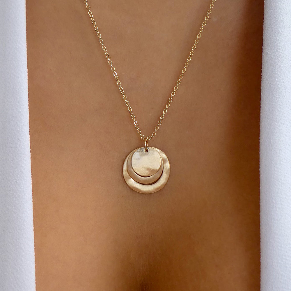 Hudson Circle Necklace