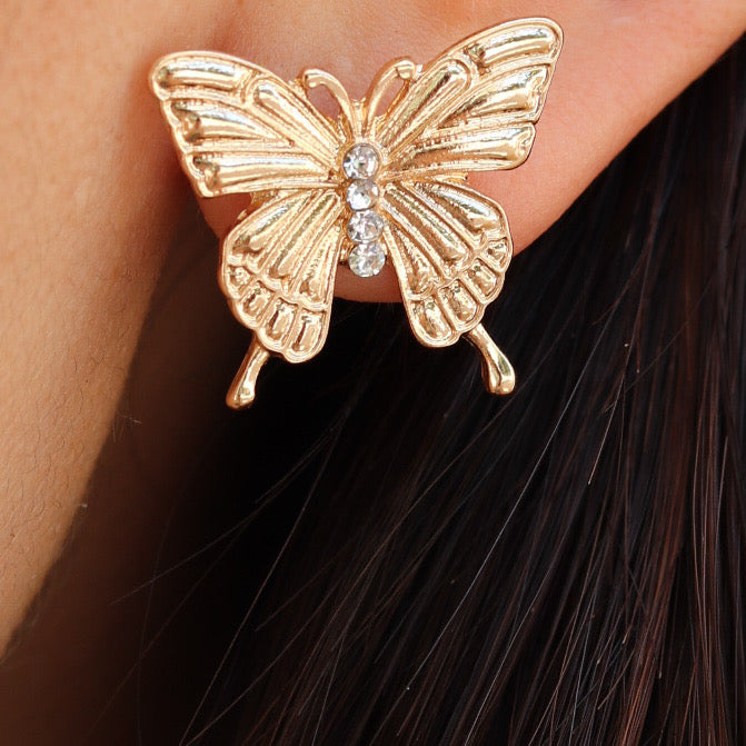 Hailee Butterfly Earrings