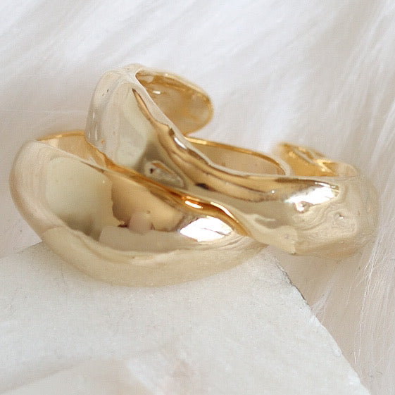 Gold Tessy Ring Set