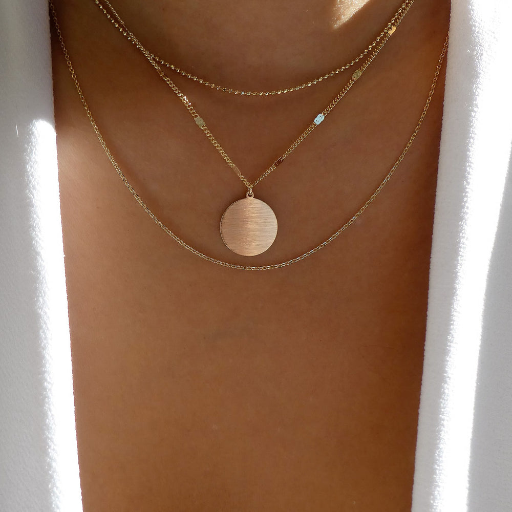 Vera Coin Necklace