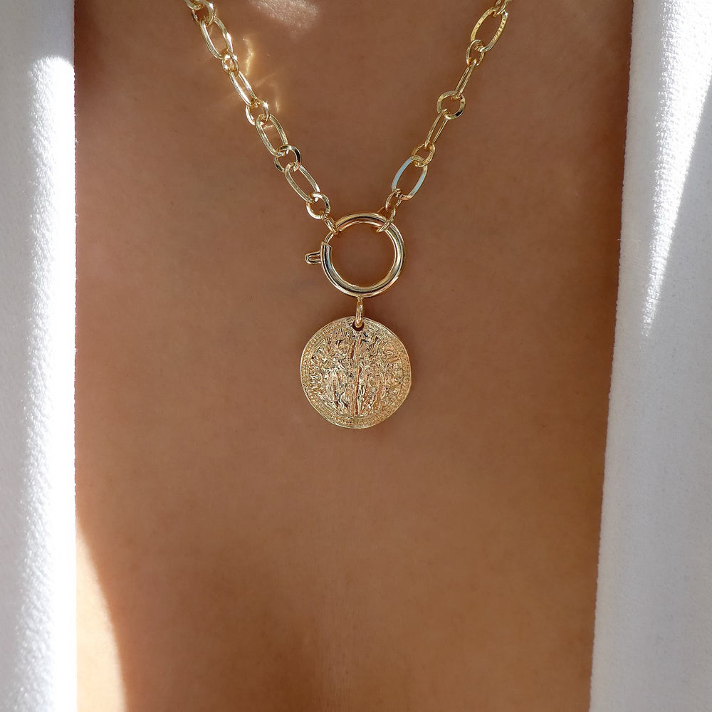 Sabille Coin Necklace