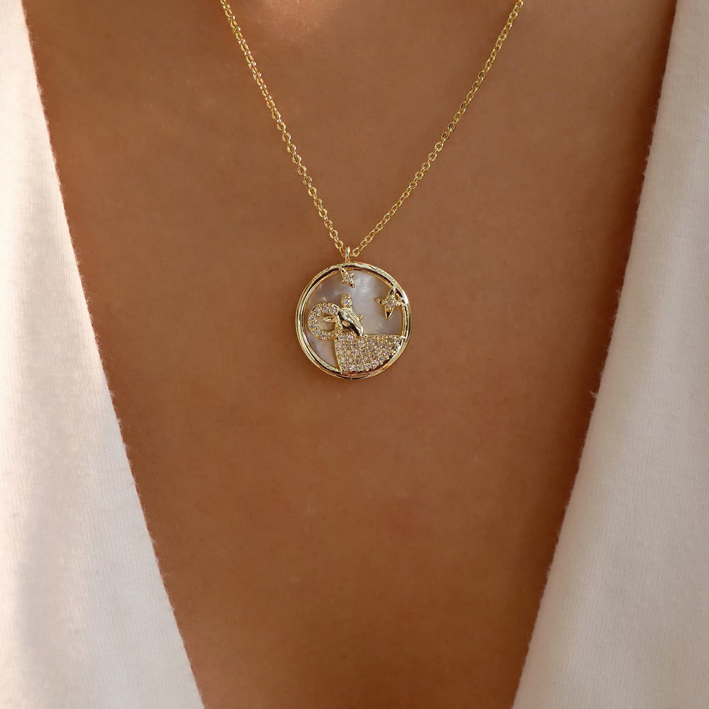 Ali Zodiac Necklace (Capricorn)