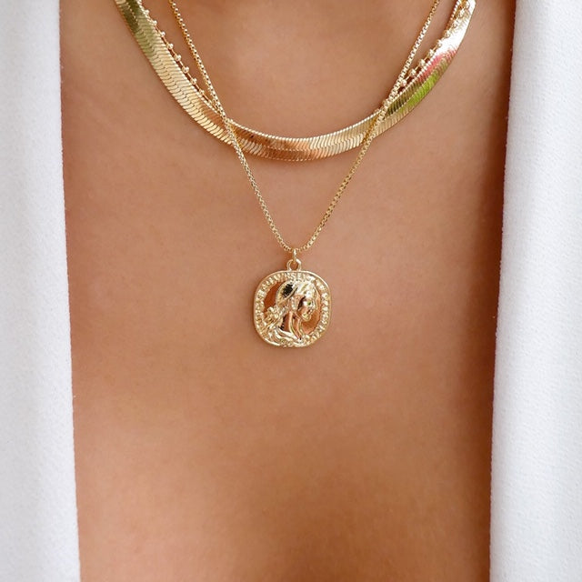 Emmy Coin Necklace