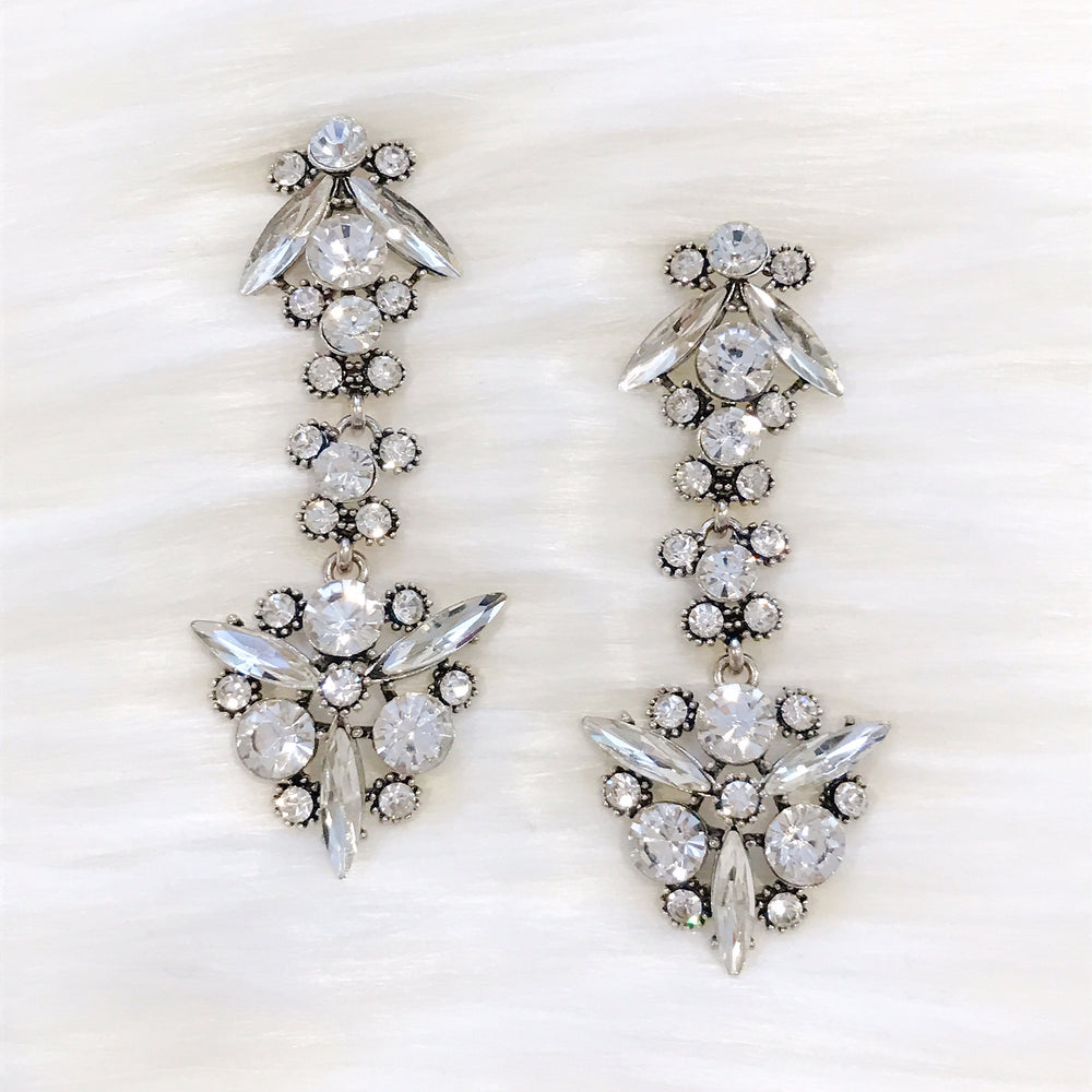 Crystal Temperly Earrings