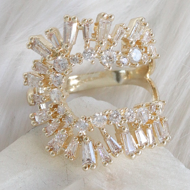 Crystal Aya Ring