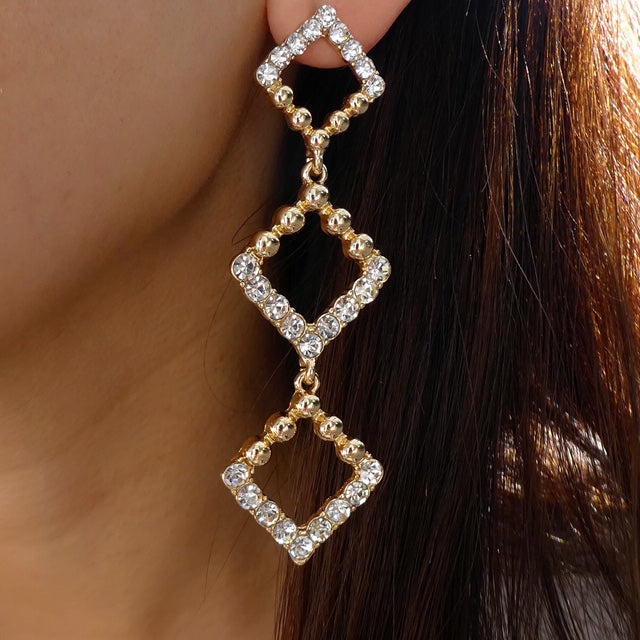 Crystal Harper Earrings