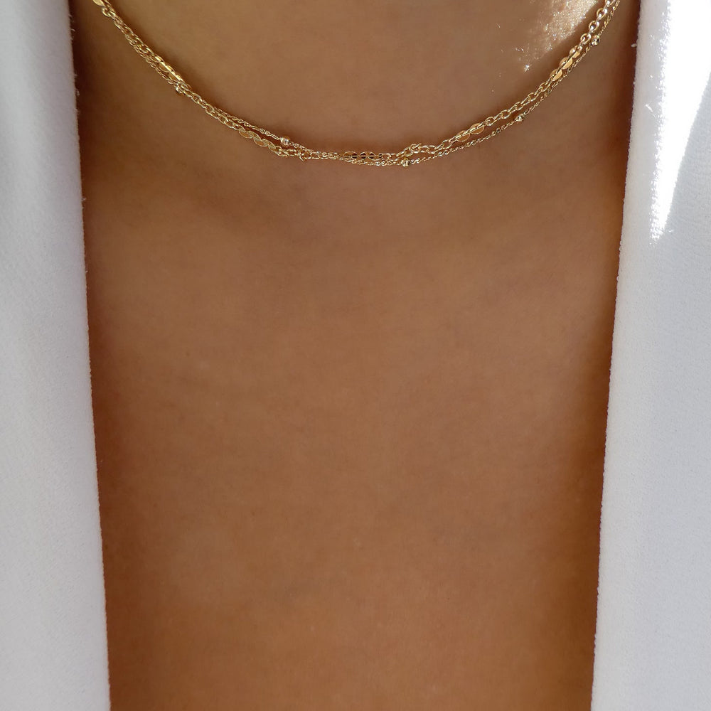 Gold Stina Choker