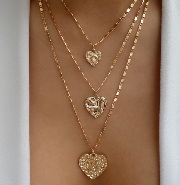 Edgar Heart Necklace