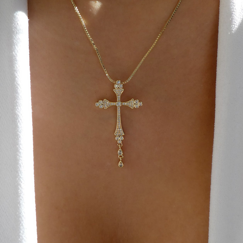 Ryland Cross Necklace