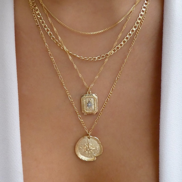 Elian Coin Necklace