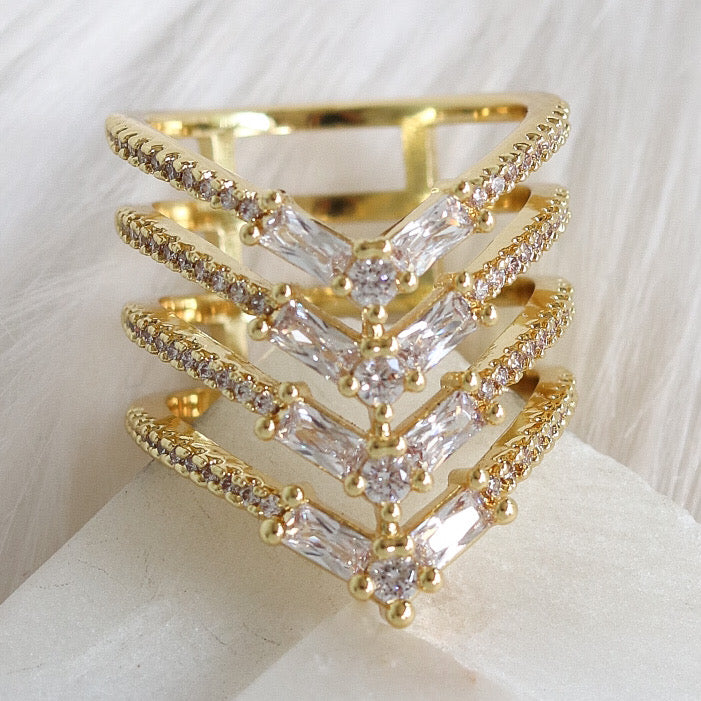 Crystal Charlotte Ring