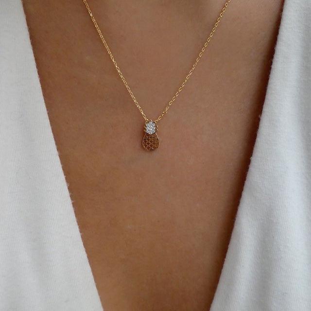 Delilah Pineapple Necklace