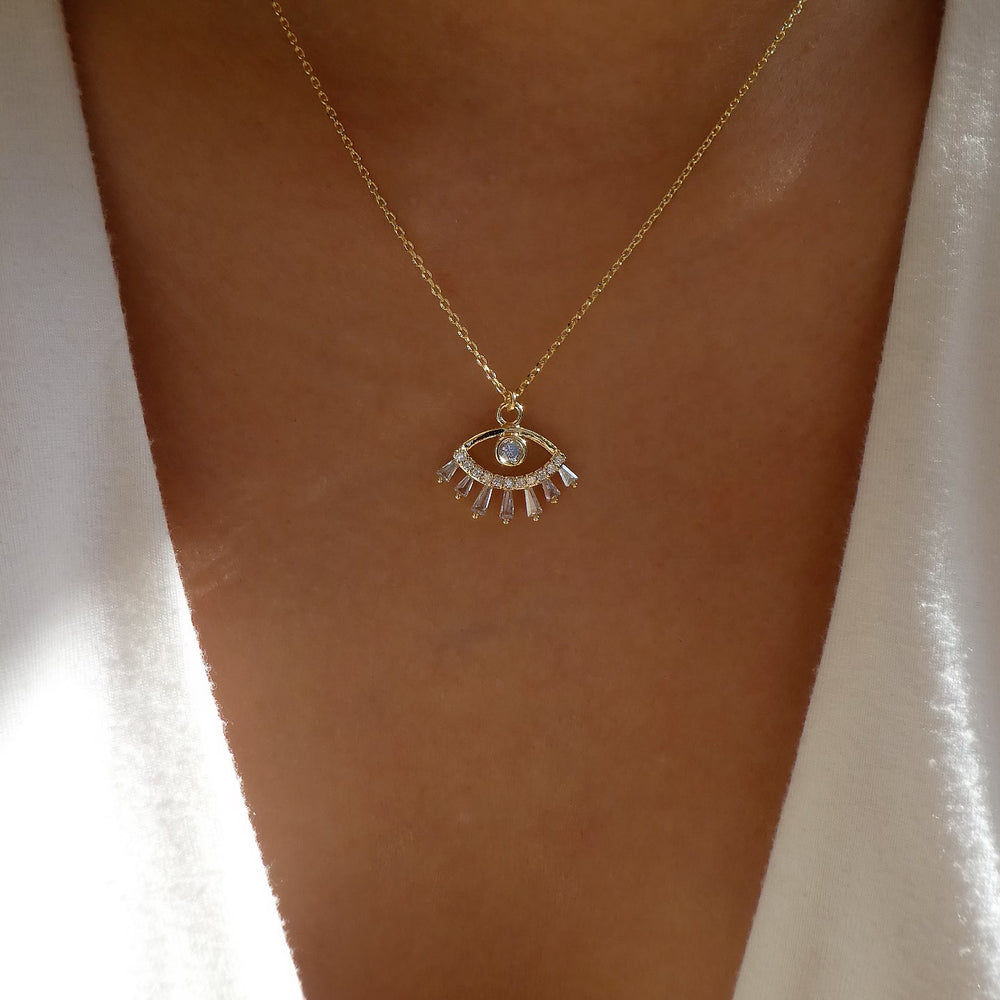 Milani Eye Necklace
