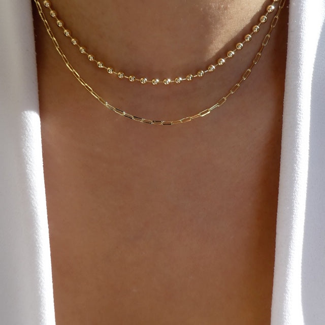 Parker Ball Chain Necklace