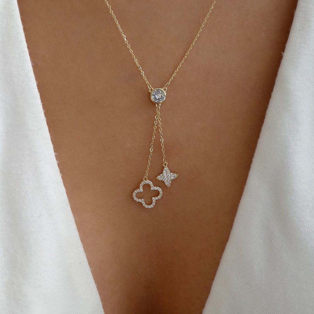Ida Clover Necklace