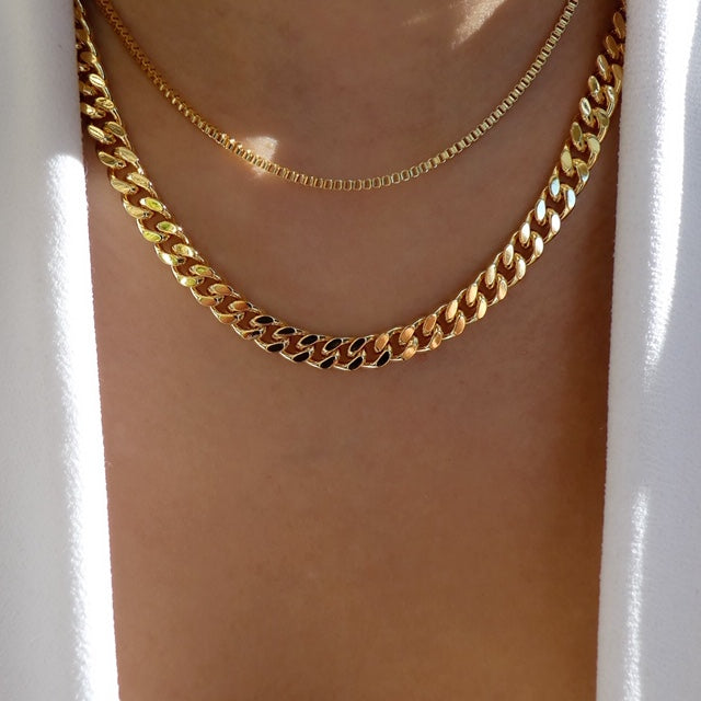 Wesley Chain Necklace Set