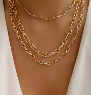 Baldwin Link Necklace