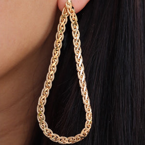 Gold Casey Earrings