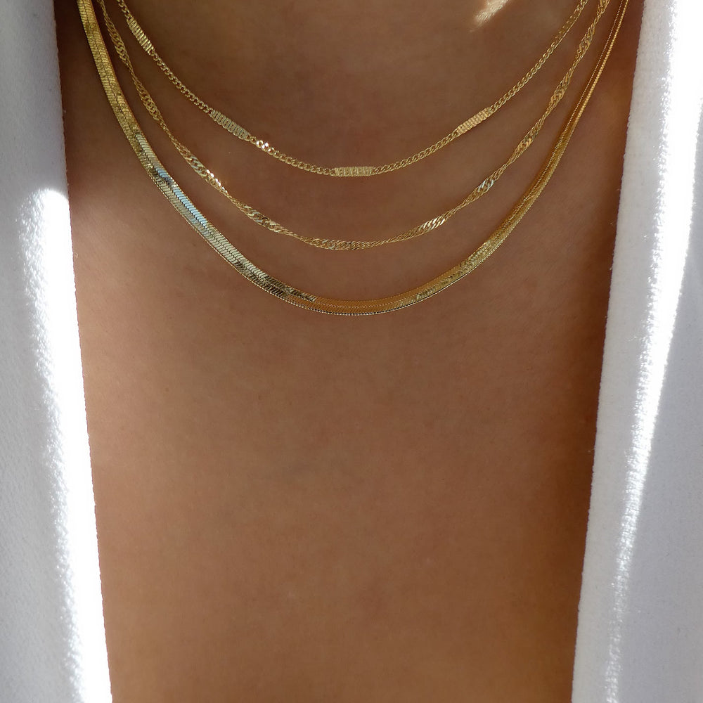 18K Ace Chain Necklace