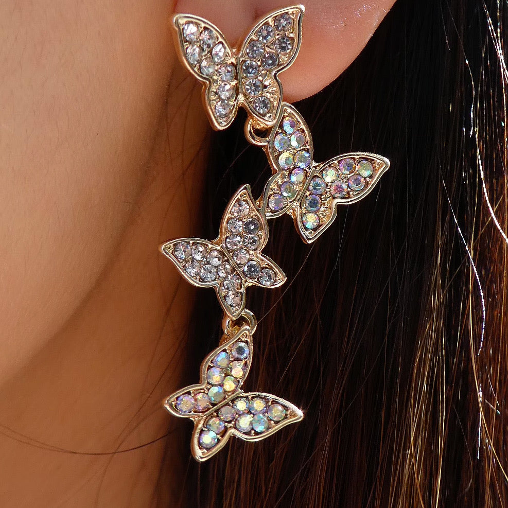 Britton Butterfly Earrings