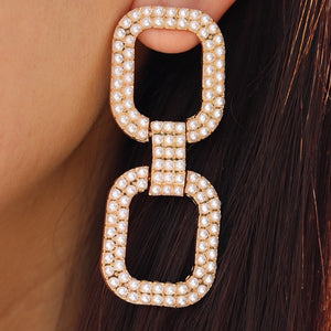 Hudson Pearl Earrings