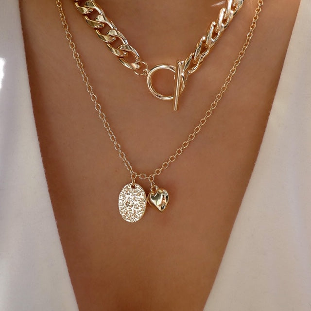 Lily Chain Necklace