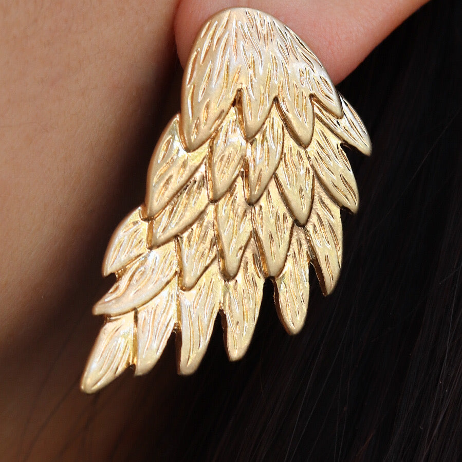Liam Feather Earrings