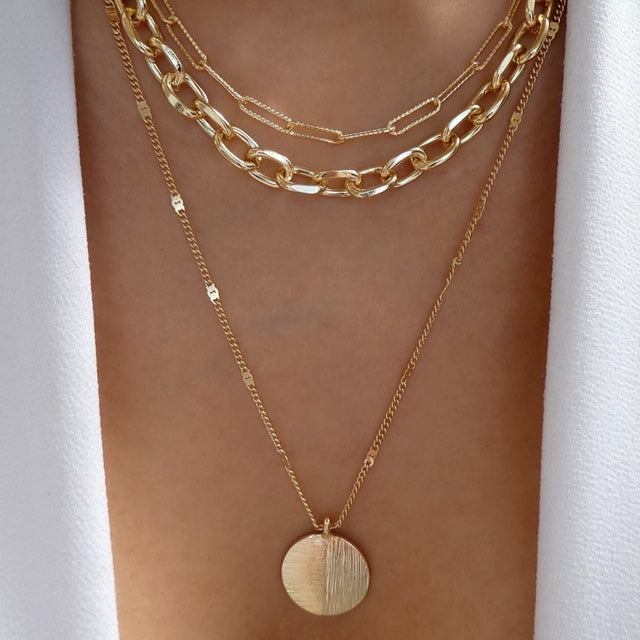 Prima Coin Necklace Set